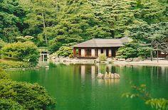 栗林公園(高松市)Ritsurin Garden Park, Takamatsu, Japan | Flickr - Photo Sharing!
