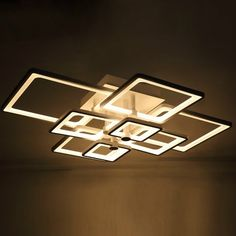 222.30$  Watch here - http://alidb8.worldwells.pw/go.php?t=32638002496 - Modern Led Ceiling Lights For Living Room acrylic led luminaire Indoor Lamp Lighting lustres de sala Ceiling Lamp Bedroom 222.30$