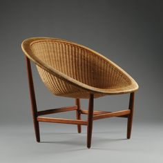 nanna ditzel / basket chair in current production by kettal