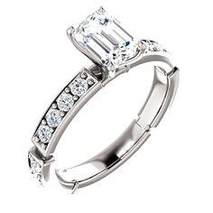 14k White Gold Band Ring http://ift.tt/2k9AGc7
