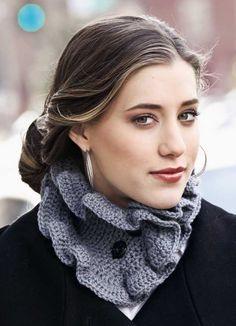Crochet cowl DvD