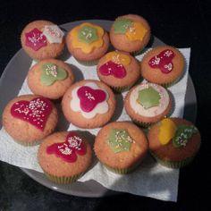 Modern Art Cupcakes
