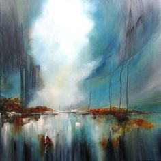 After the rain comes the sun 90 x 90 cm