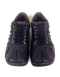 Diesel Shoes Leather Black Athletic Lace Up Oxfords Casual Square Toe 10 5 44   eBay