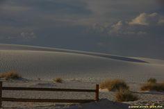 Les dunes de gypse du desert de White Sands - Nouveau Mexique - Etats Unis