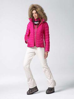 SKI DOWN JACKET NASHA in Pink / Purple for Women | BOGNER USA