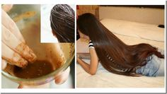 Incredible Recipe For Fast Hair Growth, Smooth Hair and Healthy Hair Glossy Hair, Shiny Hair, Hair And Beauty, Hair Balm, Diy Hair Mask, Hair Remedies, Natural Remedies, Smooth Hair, Tips Belleza