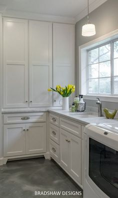 Laundry room concrete floors. Concrete floors are extremely durable and…