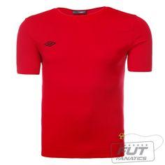 Camiseta Umbro Uniform Cotton Vermelho - Fut Fanatics - Compre Camisas de  Futebol Originais de Times do Brasil e Europa a6342cafd120a