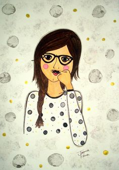 Mustache Isa by Joana Pena, via Flickr