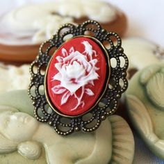 rich colored cameo