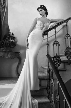 Sexy wedding dress by Berta, 2015