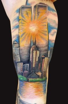 sears+building+tattoo | Twin Tower Tattoos
