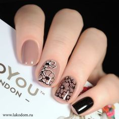 Cute Short Nails Design Ideas For Spring & Summer (Square, Round & Oval Nails) - - nails oval Cute Short Nails, Short Nails Art, Cute Nails, Pretty Nails, Short Nail Designs, Nail Art Designs, Nails Design, Hair And Nails, My Nails