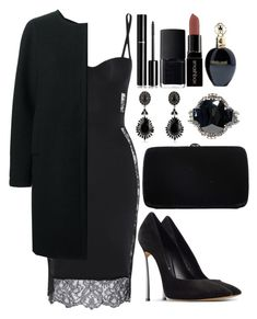 A fashion look from January 2016 featuring Jil Sander Navy coats, Casadei pumps and Sergio Rossi clutches. Browse and shop related looks. 1920s Outfits, Classy Outfits, Chic Outfits, Dress Outfits, Fashion Outfits, Womens Fashion, Dresses, Sergio Rossi, Nars Cosmetics