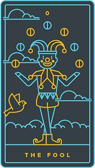 The meaning of The Fool from the Universal Waite Tarot deck: Let go of expectations and trust your instincts. Tarot Card Decks, Tarot Cards, Golden Thread Tarot, Tarot The Fool, Online Tarot, A Kind Of Magic, Rider Waite Tarot, Tarot Card Meanings, Major Arcana