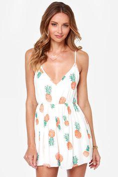 Summer dress juniors 3 fruit