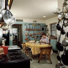 Julia Child's kitchen had three pantries, a restaurant stove, and every gadget under the sun. It was a cook's Disney World.