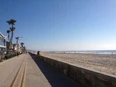 Mission Beach. San Diego