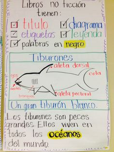 Lectura no ficción Dual language class, 3rd and 4th grade