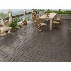 Outdoor Flooring Options, Balcony Flooring, Ikea Outdoor Flooring, Balcony Tiles, Tile Flooring, Concrete Patios, Outdoor Balcony, Outdoor Tiles, Modern Balcony