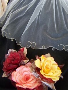 Swirl Edged Wedding Veil ∙ How To by Melinda K. on Cut Out + Keep