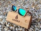 Gafas de Madera Polarizadas Woodu Classic Green