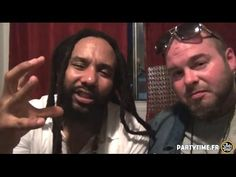 Kymani Marley interview & Live at Cabaret Sauvage PARIS -  30 MAI 2015