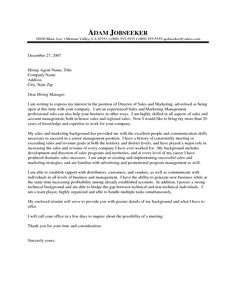 Internship Cover Letter Sample  Fastweb  Grad School