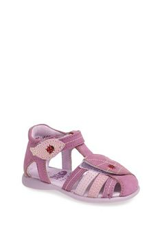 Kio Trend 'Lena' Sandal (Baby, Walker & Toddler) available at #Nordstrom