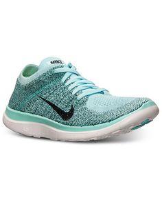 Nike Women's Free Flyknit 4.0 Running Sneakers from Finish Line