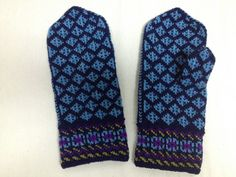 Ravelry: Baltic Cross Mittens pattern by Donna Kay