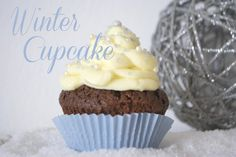 winter cupcake Winter Cupcakes, Food Inspiration, Yummy Food, Desserts, Recipes, Delicious Food, Deserts, Food Recipes, Rezepte