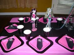 Monster High Slumber Party Birthday Party Ideas | Photo 1 of 16 | Catch My Party