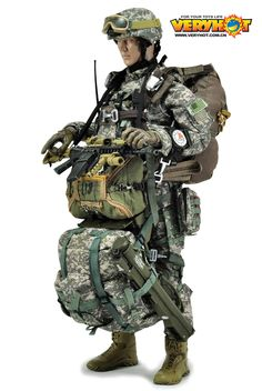 Military Diorama, Military Art, Military History, Airborne Ranger, America Memes, Military Action Figures, Military Special Forces, Iron Man Suit, Special Ops