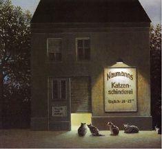 Michael Sowa ミヒャエル・ゾーヴァ 空想と現実を絶妙なタッチで描くドイツの画家 | BIRD YARD