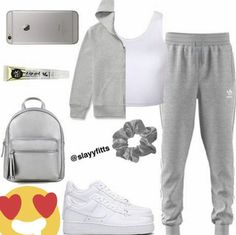 """#wattpad #fanfiction Two best friend's both have secret crushes on each other. Not to mention that jayden already has a girlfriend and annie has a boyfriend. Their friends always tease them all the time saying """"aww y'all would be cute together"""" but they don't really take it seriously until one day one friends say it ag... Cute Lazy Outfits, Swag Outfits For Girls, Cute Swag Outfits, Teenage Girl Outfits, Teen Fashion Outfits, Trendy Outfits, Sport Outfits, Sporty Fashion, Sporty Chic"""