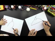 ▶ How To Draw A Cupcake - YouTube