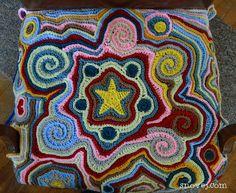 Crochet FreeForm - Tutorial ❥ 4U hilariafina  http://www.pinterest.com/hilariafina/