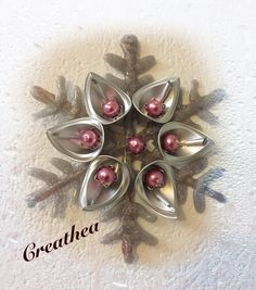 Coffee Pods, Deco Table, Christmas Diy, Table Decorations, Crafts, Jewelry, Espresso Coffee, Recycling, Xmas