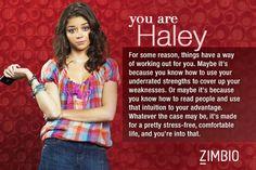 I took Zimbio's 'Modern Family' quiz and I'm Haley. Who are you? #ZimbioQuiz