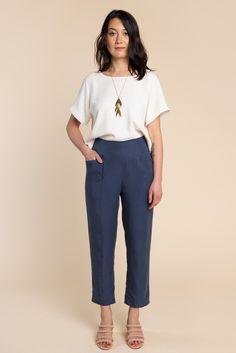 Pietra Shorts & Pants Pattern - PDF Download | Closet Case Patterns