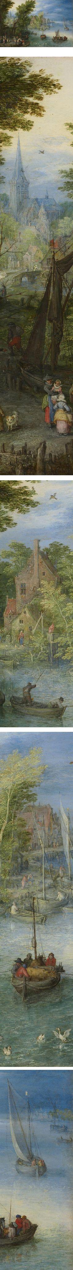 River Landscape, Jan Brueghel the Elder