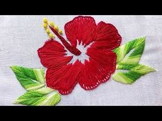 Hand Embroidery Designs | Checker net stitch | Stitch and Flower-72 https://youtu.be/w5lZ0Uy4jUo http://handembstitch.blogspot.com  Today we will learn beautiful hand embroidery designs checker net stitch. It is so beautiful and easy to do. So lets start.