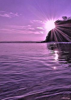 Purple sunset and sunrises Purple Sunset, Purple Love, All Things Purple, Shades Of Purple, Lavender Aesthetic, Purple Aesthetic, Purple Wallpaper, Purple Reign, Nature Pictures