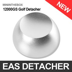 Golf Detacher Magnetic Security Hard Tag Remover Practical Detacher Eas Tag Detacher Magnet 12000GS
