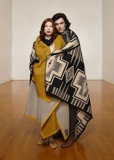 Harding Wool Blanket from Pendleton- The Portland Collection