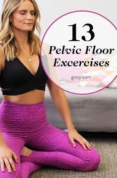 13 pelvic floor exercises to strengthen and tone. #Stretchingforseniors-thebenefits