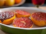 Brown Sugar-Spiced Grapefruit    Bobby Flay tops grapefruits with brown sugar, cinnamon and ground ginger and broils them until golden brown on top for a sweet breakfast, brunch or dessert treat.