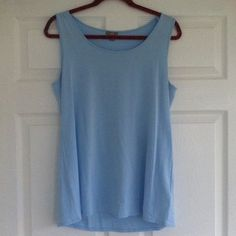 J.Jill - Blue Stretchy Top Excellent condition. Make an offer and no trade. J. Jill Tops